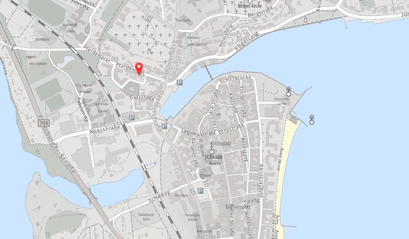 Lage: Pferdemarkt 13 in 24340 Eckernförde